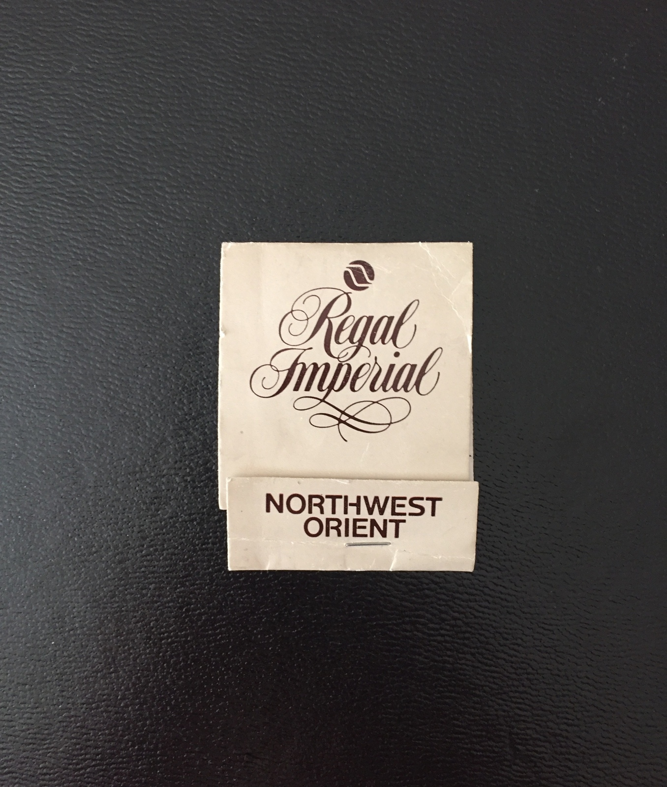 Vintage 70s Northwest Orient Regal imperial sewing kit - new and unused