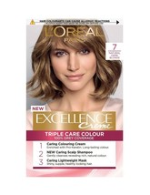 L'oreal EXCELLENCE- Natural Dark Blonde Permanent Colour Dye 100% Grey Coverage - $18.48
