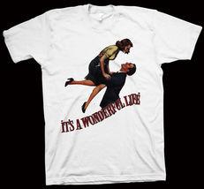 It's A Wonderful Life T-Shirt Frank Capra, James Stewart, Donna Reed, Li... - $14.99+