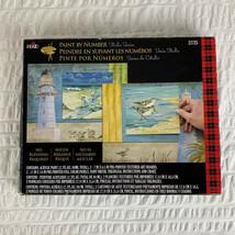 NIB Plaid Paint By Number Kit # 21725 Beachside Sealed Paints 2012 Open Box - $36.63