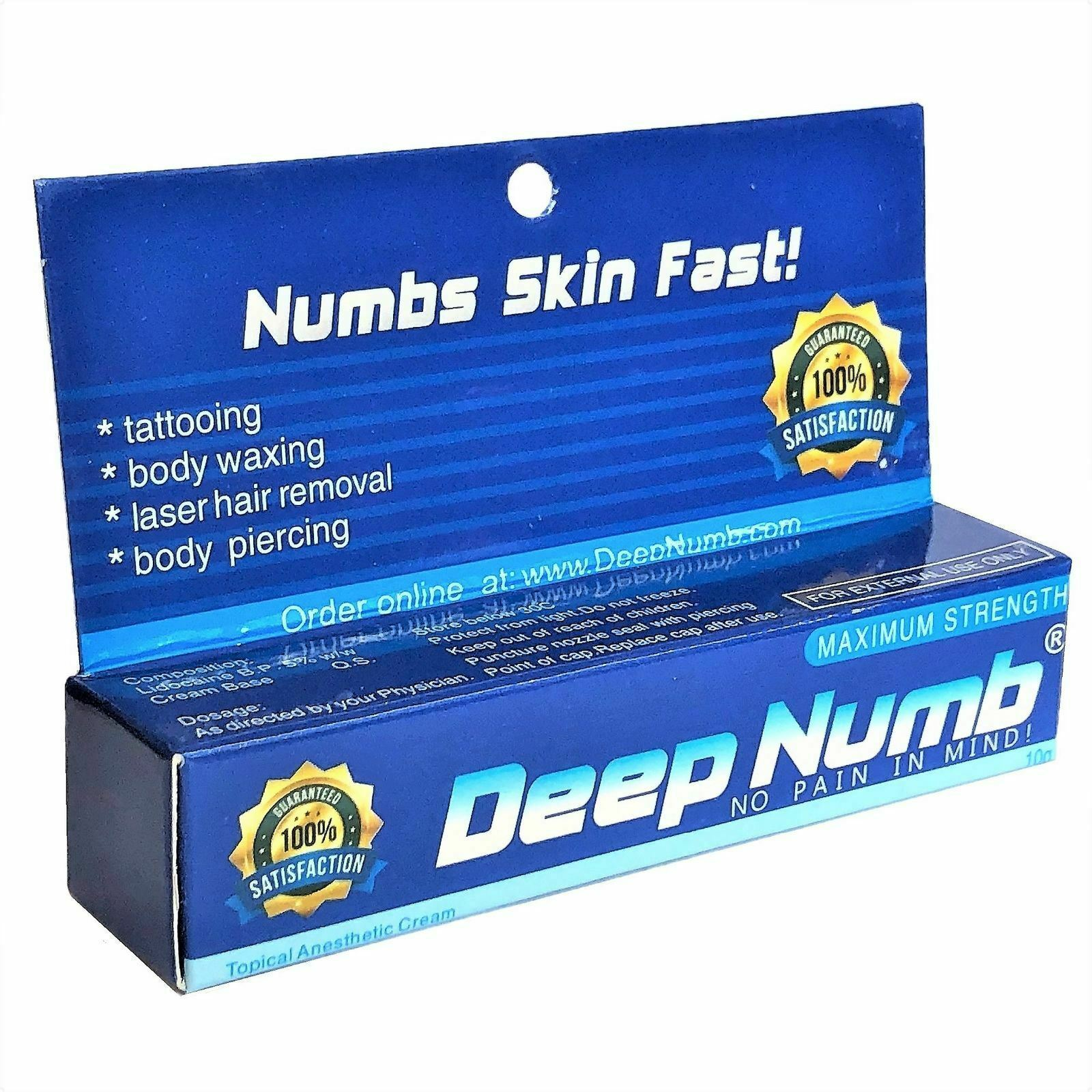 New10gr DEEP NUMB Numbing Cream Anesthetic and 50 similar items