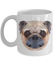 "Pixel Pug Mug ""Pug Face Coffee Mug"" Unique Pug Gift For Any Pug or Puggle Owners - $14.95"