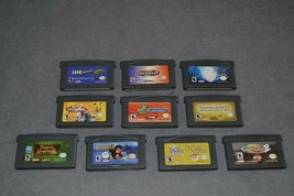 Nintendo Game Boy Advance: 10 Game Lot a - $22.00