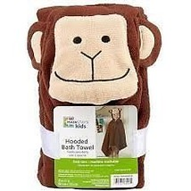 Mainstays Monkey Hooded  Kids Bath Towel Rare Find! - $15.51
