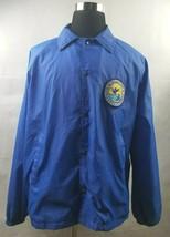 Fish and Wildlife Service Volunteer Vintage Jacket Windbreaker Mens SIze... - $15.19