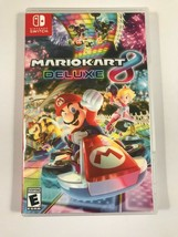 Mario Kart 8 Deluxe - Nintendo Switch - Replacement Case - No Game - $7.91