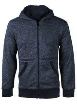 Boys Kids Toddler Athletic Soft Sherpa Lined Fleece Zip Up Hoodie Sweater Jacket image 9