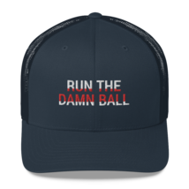 Run the Damn Ball / run the Damn Ball Trucker Cap image 3