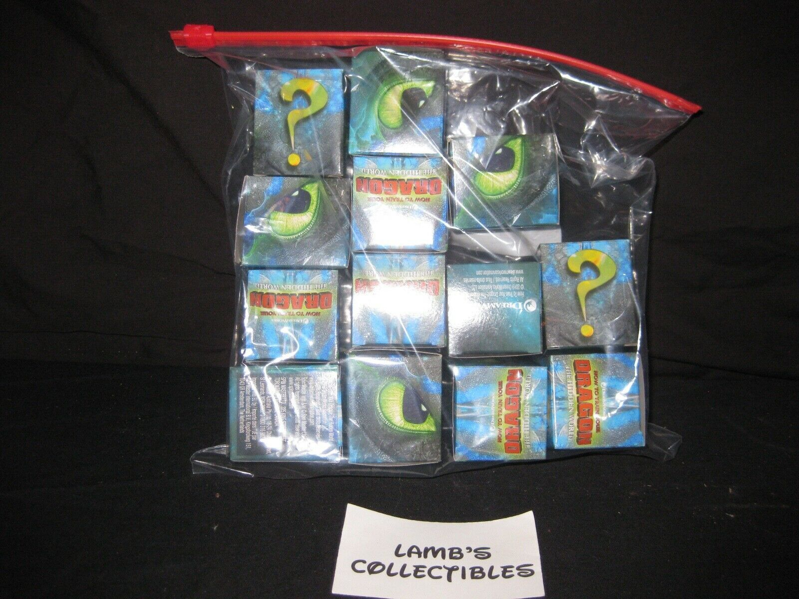 Primary image for Lot of 13 EMPTY Display boxes How to train your dragon 3 The Hidden world mini