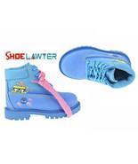 "Timberland X SpongeBob 6"" Premium Toddler Boots Jellyfish/Bright Blue TB... - $89.89"