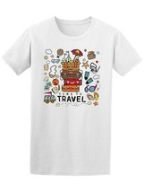 Time To Travel Doodle Men's Tee -Image by Shutterstock - $9.86+