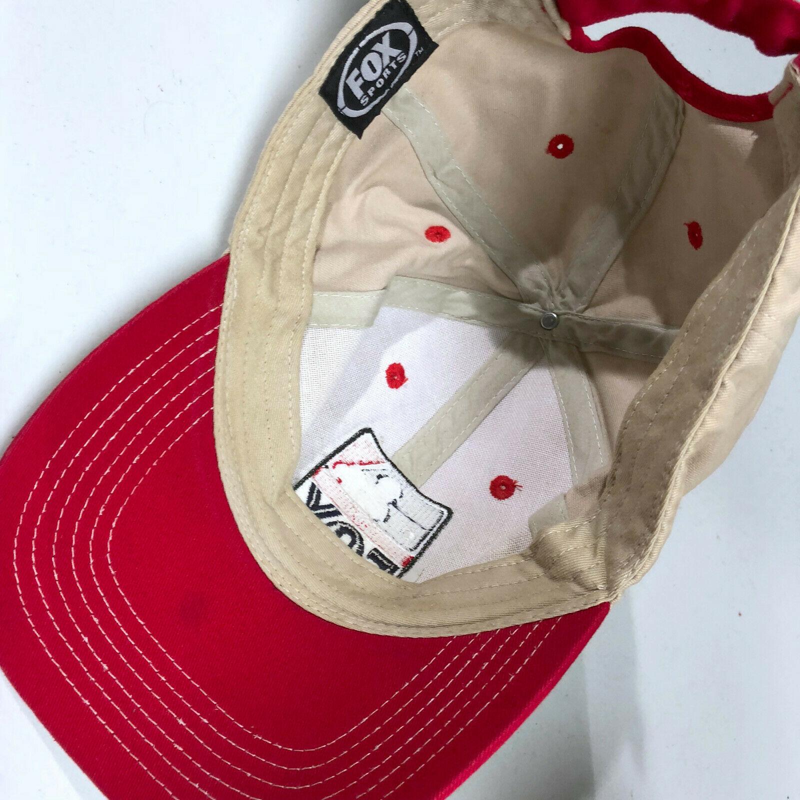 FOX Sports Major League Baseball Strapback Baseball Cap Hat
