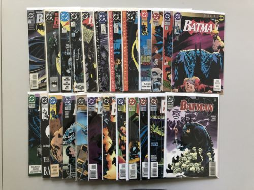 Lot of 24 Batman (1940) from #0 434-516 VF-NM Near Mint