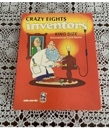 Vintage 1984 Edu Cards King Size Crazy Eights Inventors Card Game Comple... - $11.49