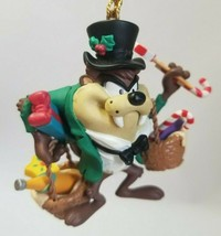 Warner Bros Looney Tunes Taz with Treats 1996 Ornament - $23.12