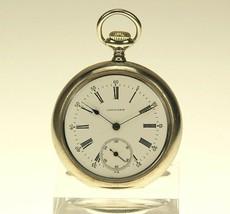 LONGINES Taschenuhr Herren Uhr uhren pocket watch no spindel armbanduhr Rar - $226.80