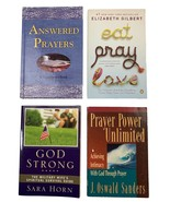 Eat Pray Love, Answered Prayers, God Strong Military , Prayer Power Unli... - $15.83