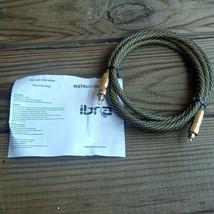 1 IBRA 2.0m Audio Digital Optical Fiber Cable - Premium Master Gold 6 ft - $16.57