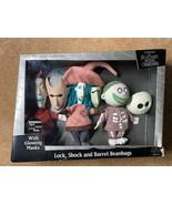 "Nightmare Before Christmas 5"" Lock, Stock, and Barrel Beanbag Figures - $98.57"