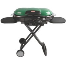 Portable Propane Grill 2 Burner Gas Green Barbecue Patio Meat Outdoor Ca... - £145.36 GBP