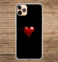 Heart Splatter Love Phone Case for iPhone Galaxy 5 6 7 8 9 11 Pro X XS M... - £17.43 GBP