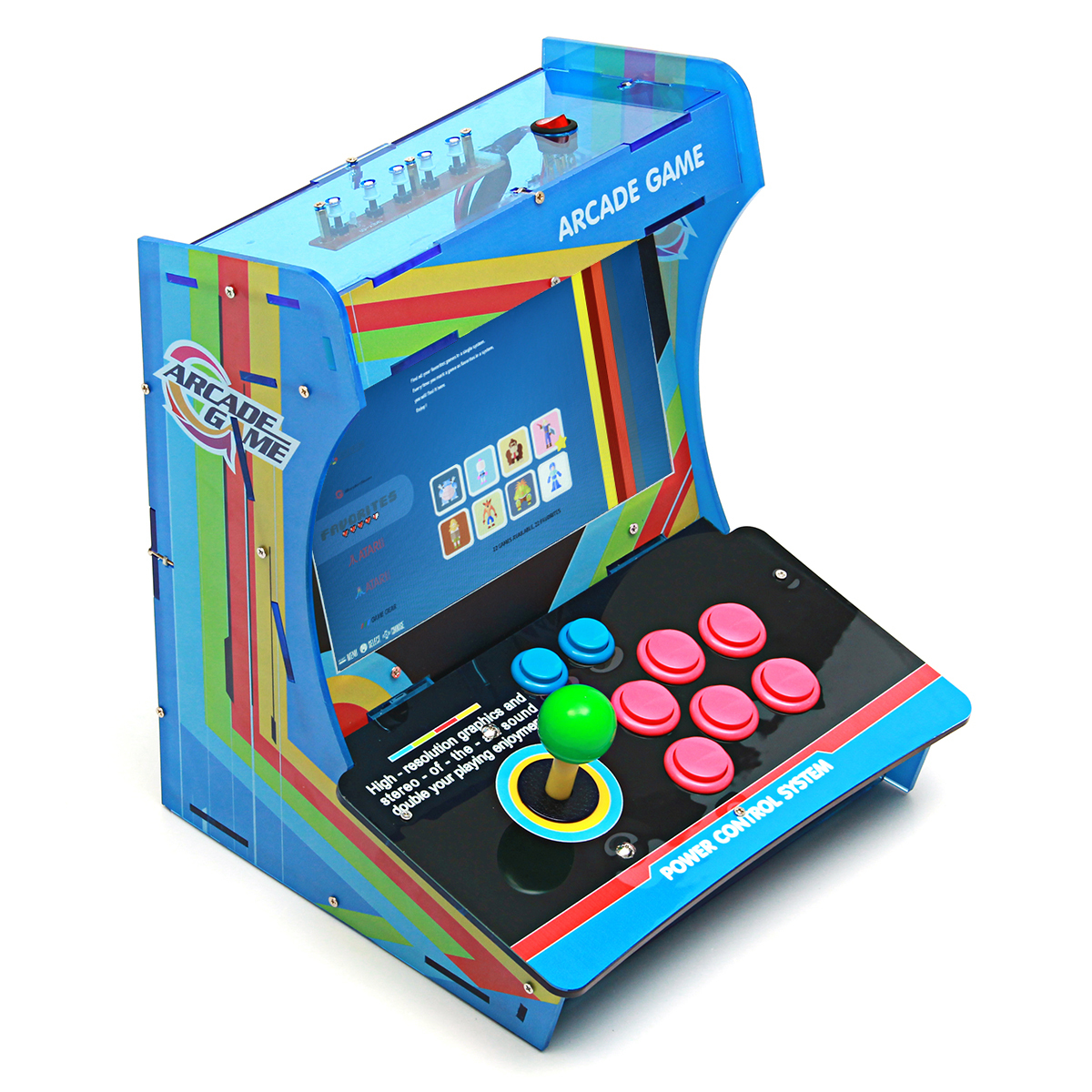 Raspberry Pi 3 Model B 32G Retro Video Arcade Game Console