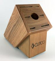 Cutco Galley Set Knife Block Wood - 7 Slot - Honey Oak Finish #1743 - Ex... - $49.49