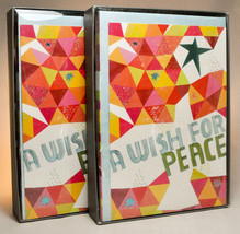 Hallmark: Boxed Christmas Cards - A Wish For Peace - 2 Boxes of 16 - $15.49