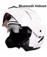 Built-in Bluetooth New fashion double lens flip up motorcycle helmet mot... - $139.99
