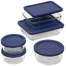 Storage Set, Blue Lids, 10-Pc. - $39.59