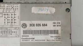 Volkswagen Golf Jetta CC EOS CD Satellite Player Radio Stereo 3co-035-684 image 5