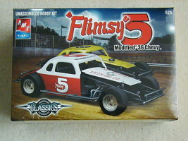 "FACTORY SEALED ""Flimsy 5"" Modified '36 Chevy by Dirt Track Race Cars #21... - $39.59"