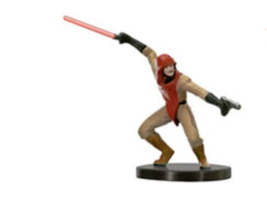 DARK JEDI 7 Wizards of the Coast STAR WARS Miniature - $2.49