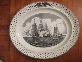 CONSTITUTION AND JAVA AMERICAN HERITAGE PLATTER Wedgwood England  - $56.10