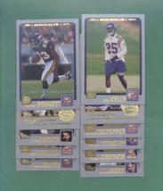 2001 Topps Minnesota Vikings Football Set - $3.99