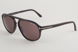 Tom Ford JACOB Brown / Brown Sunglasses TF447 49J - $244.02