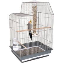 Ware Gray/white Bird Central Cockatiel/conure Cage 791611173237 - £88.05 GBP