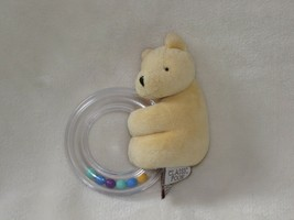 Classic Winnie the Pooh Stuffed Plush Plastic Circle Ring Rattle Baby To... - $15.83