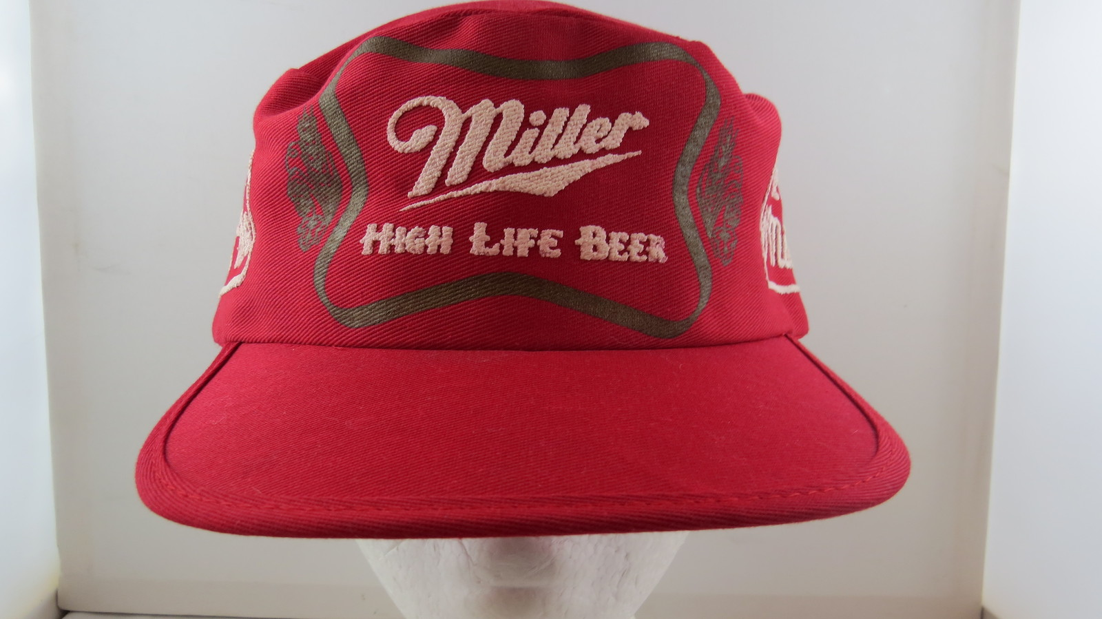 7f1e0b7ae5fc4 Miller High Life Hat - Cotton Pill Box with and 50 similar items