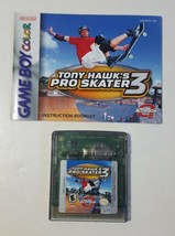 Tony Hawk's Pro Skater 3 (Nintendo Game Boy Color, 2001) Game & Manual GBC - $8.86