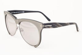 Tom Ford Leona Gray / Gray Mirror Sunglasses TF365 38G - $165.62