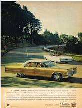 Vintage 1966 Magazine Ad Cadillac No Other Driving Experience To Match Cadillacs - $5.93