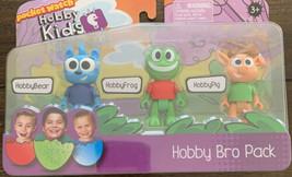 Pocket Watch Hobby Kids Adventures Hobby Bro Pack Bear Frog Pig New Free... - $13.36