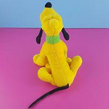 "Disney Plush Pluto Stuffed Animal 8"" Sitting Dog Mickey Mouse   image 3"