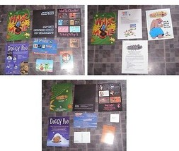 Whack A Mole Press kit + Asstd Promos Doggy Poo Japanese Characters + More - $15.00