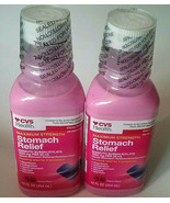 (2) CVS Maximum Strength Cherry Heartburn Upset Stomach Nausea Diarrhea ... - $13.85