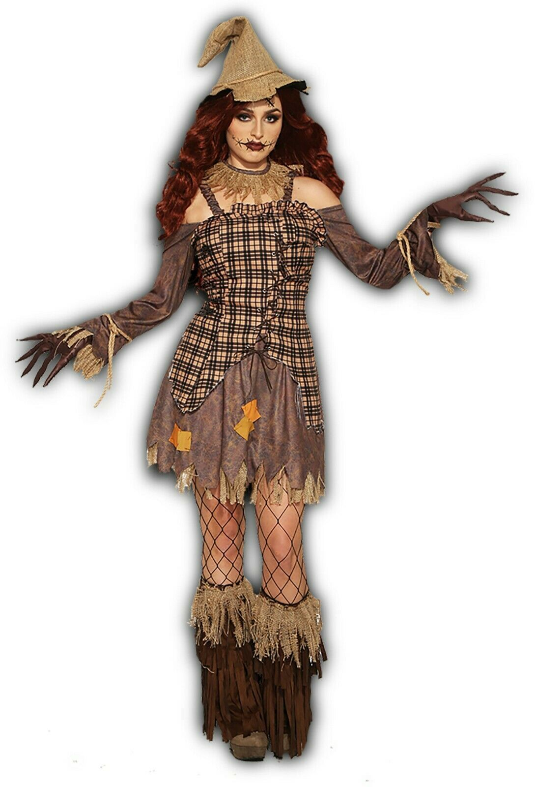 Forum Novelties Harvest Épouvantail Robe Adulte Femmes Halloween Costume 83937