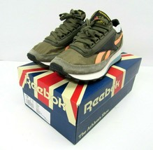 New Reebok AZTEC OG SHOES Womens Size 6 Mens 4.5 Brown Green AZ79 - $89.05