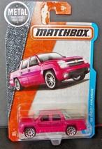 Matchbox MBX 2017  '02 CHEVY AVALANCHE  NEW VHTF - $1.48