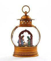 "Nativity Water Lantern Jesus, Mary, Joseph Lights Up w Warm Light 10"" High image 2"
